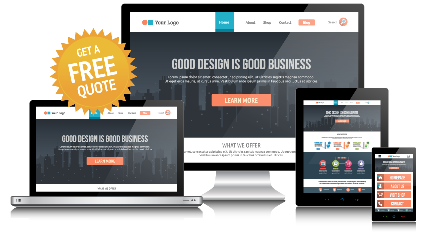 responsive web design sunshine coast