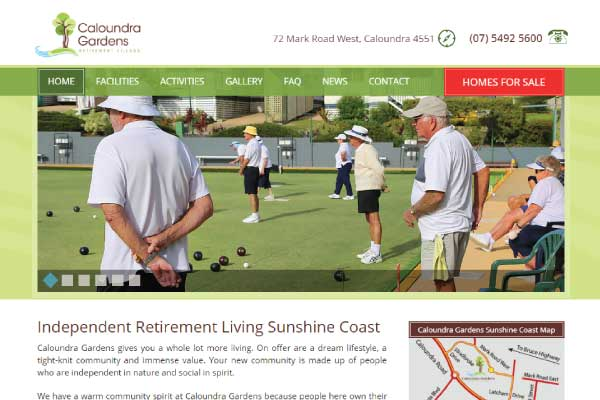 web design caloundra gardens sunshine coast
