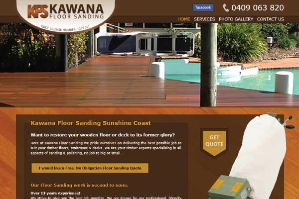 web design kawana floor sanding sunshine coast