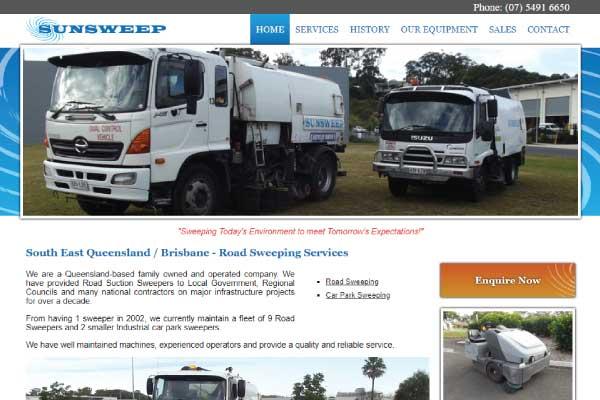 web design Brisbane Sunsweep