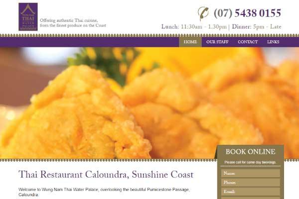 web design wungnam thai sunshine coast