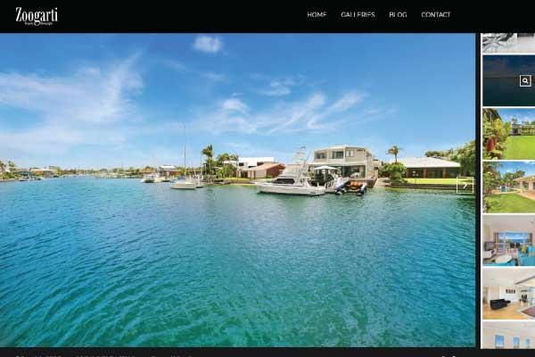 web design brisbane zoogati photography
