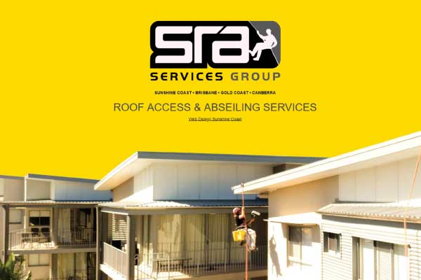 web design sunshine coast sra services
