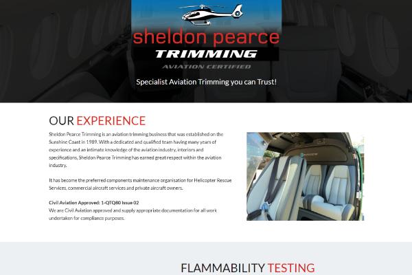 aviation trimming sunshine coast website design