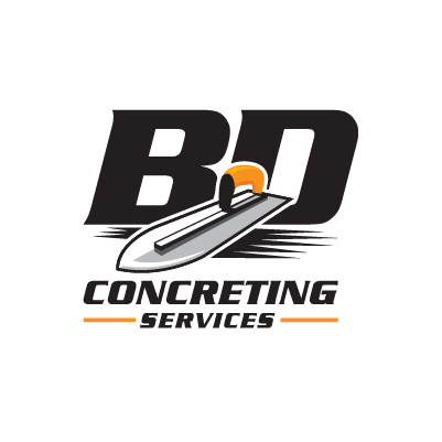 logo design sunshine coast bd concreting services