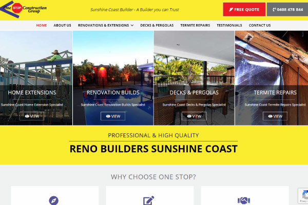 web design builder sunshine coast